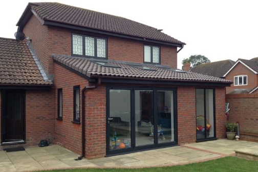 single storey extension Design, Planning and building regulations drawings in Lincoln