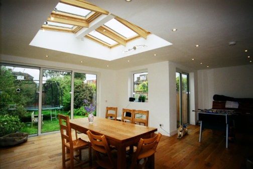 single storey extension Design, Planning and building regulations drawings in Lincolnshire